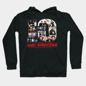 10 Years Of One Direction 2010-2020 Signatures Hoodie