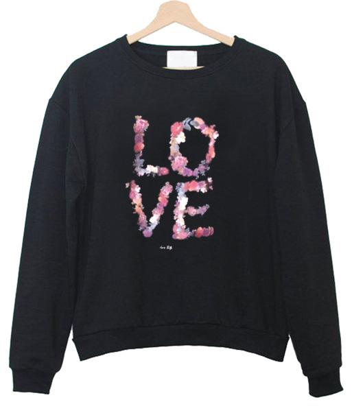 Love Flower Sweatshirt