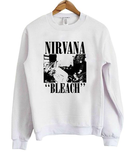 Nirvana Bleach Sweatshirt