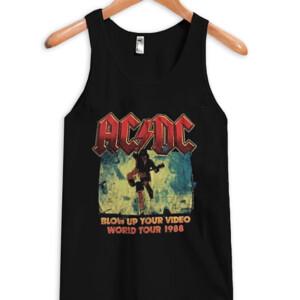 AC DC World Tour 1988 Tank top
