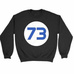 73 Distressed Circle Sweatshirt Sweater