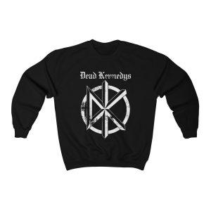Dead Kennedys Logo 1997 Punk Rock Band Double Sided Tour Misfits2 Unisex Sweatshirt