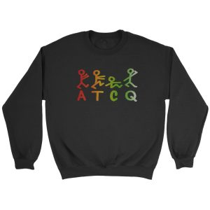 A Tribe Called Quest Atcq Gradient Logo Rap Hip Hop Music Sweatshirt