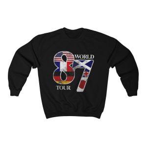 Def Leppard World Tour 1987 Rock Band Unisex Sweatshirt